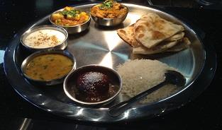 Lunch Special Fix Thali